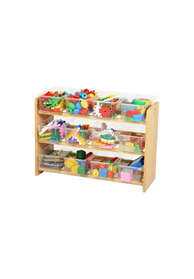 Mueble modular para guardar material didactico
